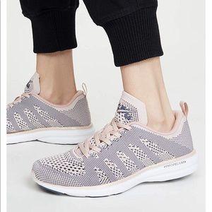 APL Techloom Pro Peach Purée Grisaille Sneaker 8.5